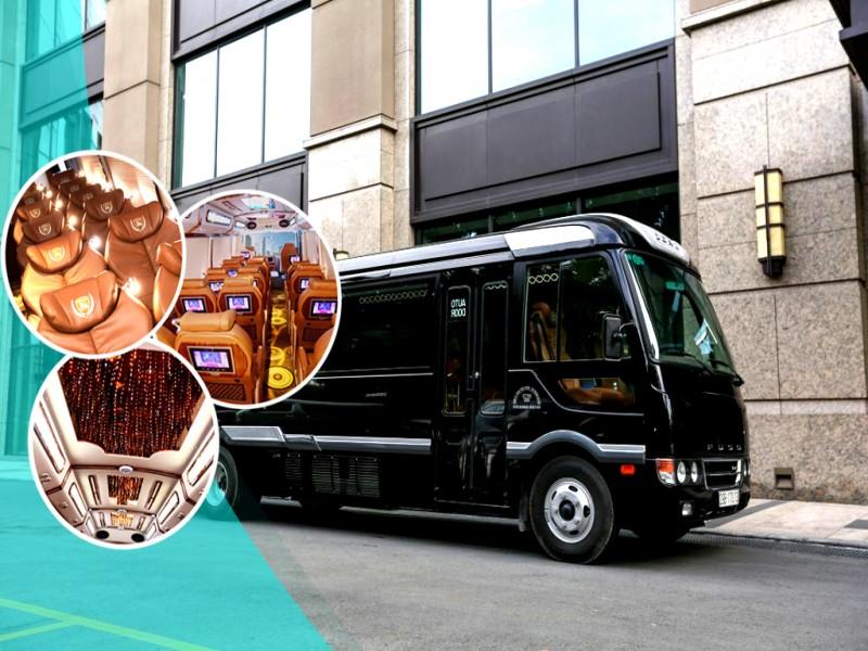 Luxury Limousine Shuttle Bus - Alisa Cruise