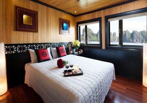Phòng cabin đôi - Tàu Galaxy Premium