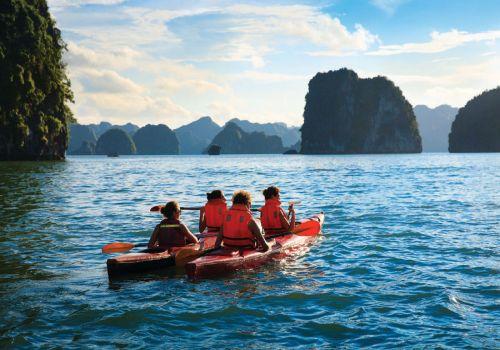 Chèo thuyền Kayak