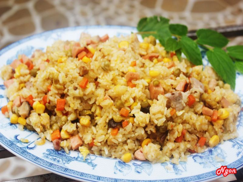 Fried Rice for breakfast