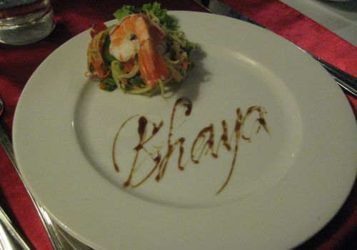Bhaya Cruise - Special Meal