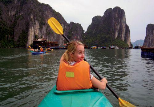 Bhaya Cruise - Kayaking on Halong Bay