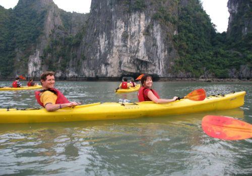 Kayaking - Ginger Cruise