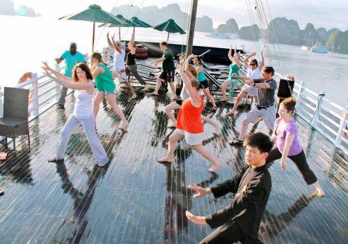 Golden Lotus Junk - Tai Chi Exercise