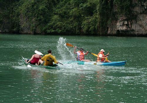 Signature Halong Cruise - Kayaking