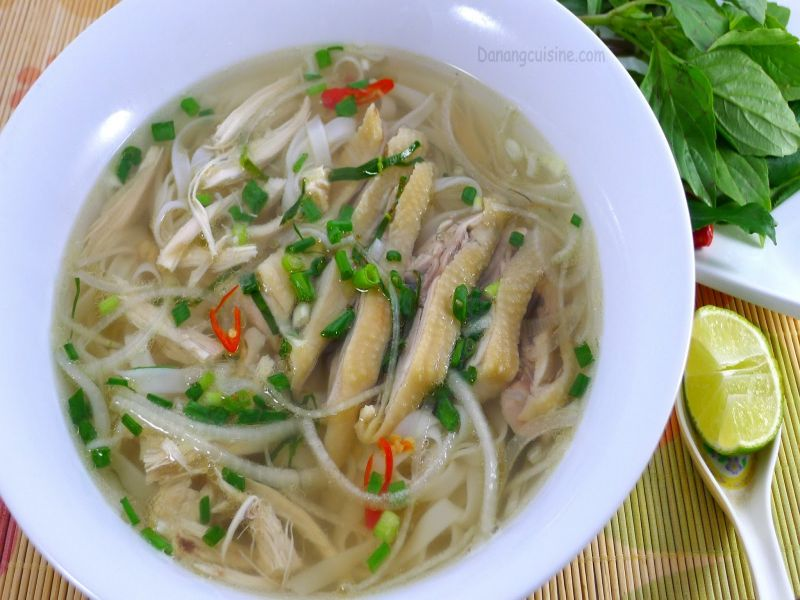 Pho Ga- Noodle Soup for breakfast