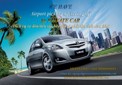Air-port transfer by private car